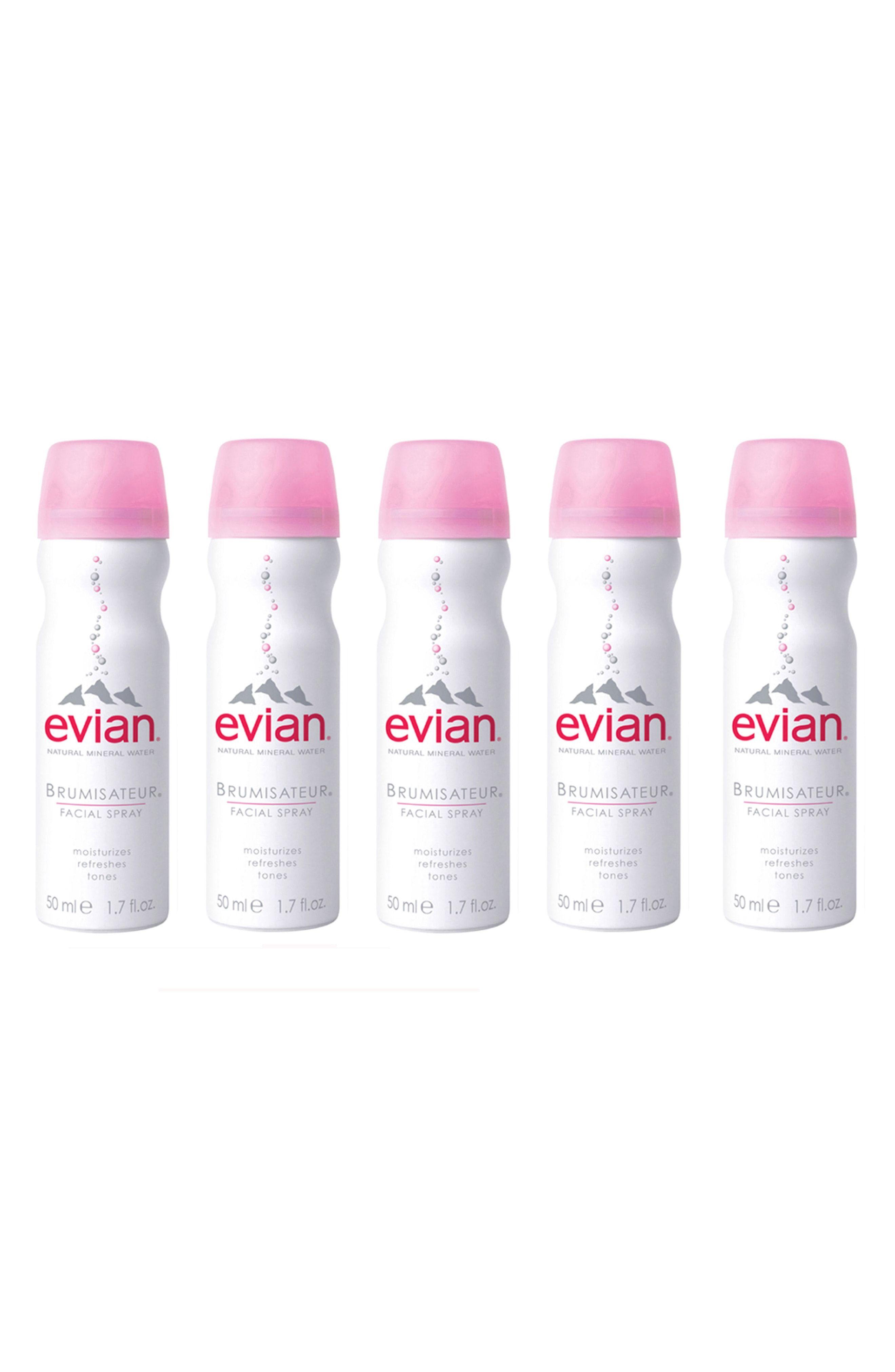 Evian facial mist fanny
