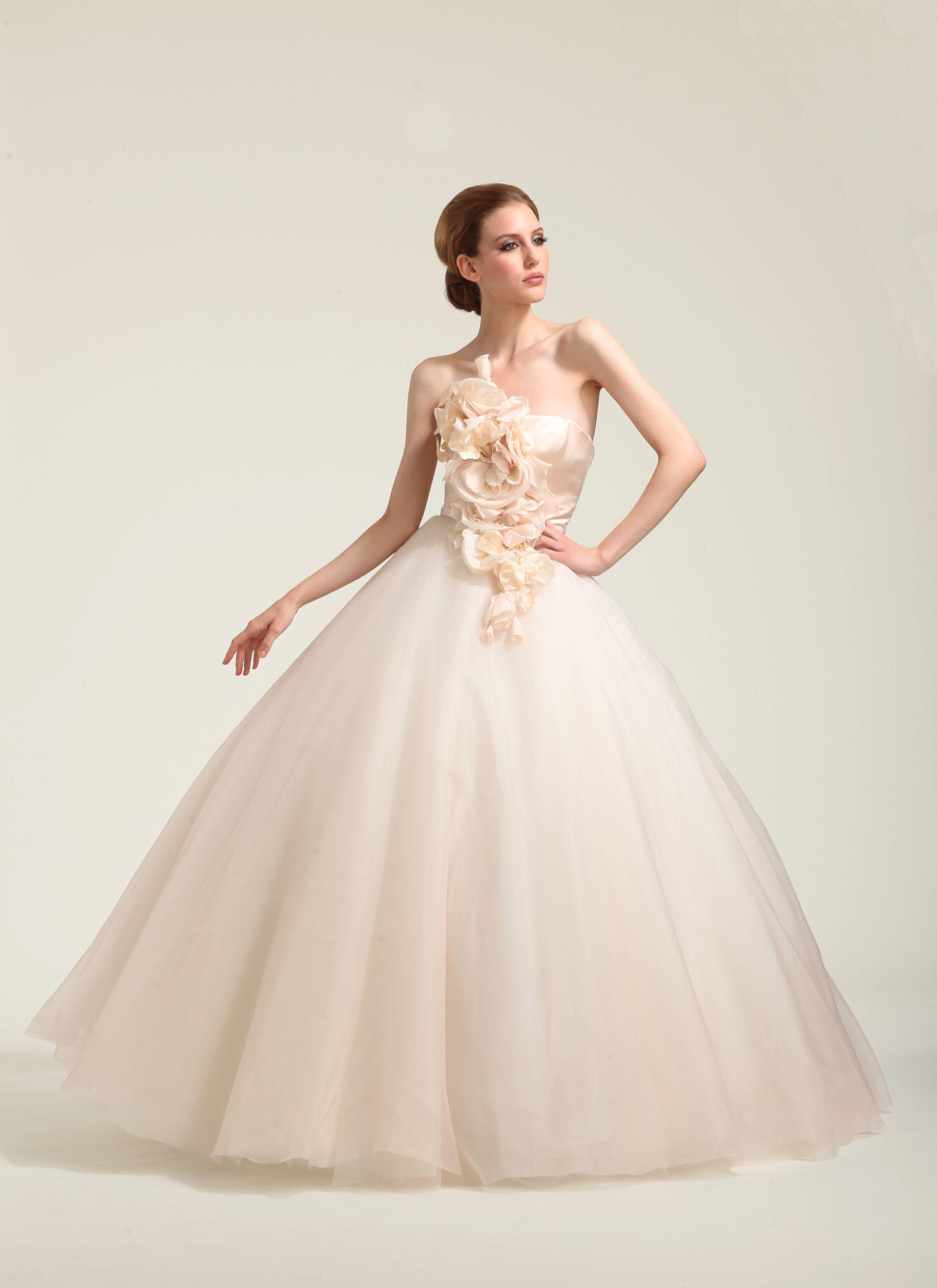 Organza Debutante Britta Kjerkegaard Fashion Wedding Dresses