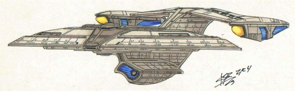 USS Jean-Luc Picard NCC-91280 by Atolm
