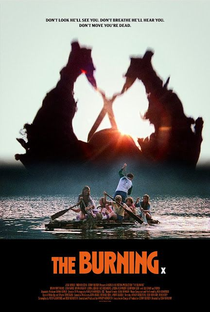 The Burning (1981) alt poster art   Popcorn and Blood in ...