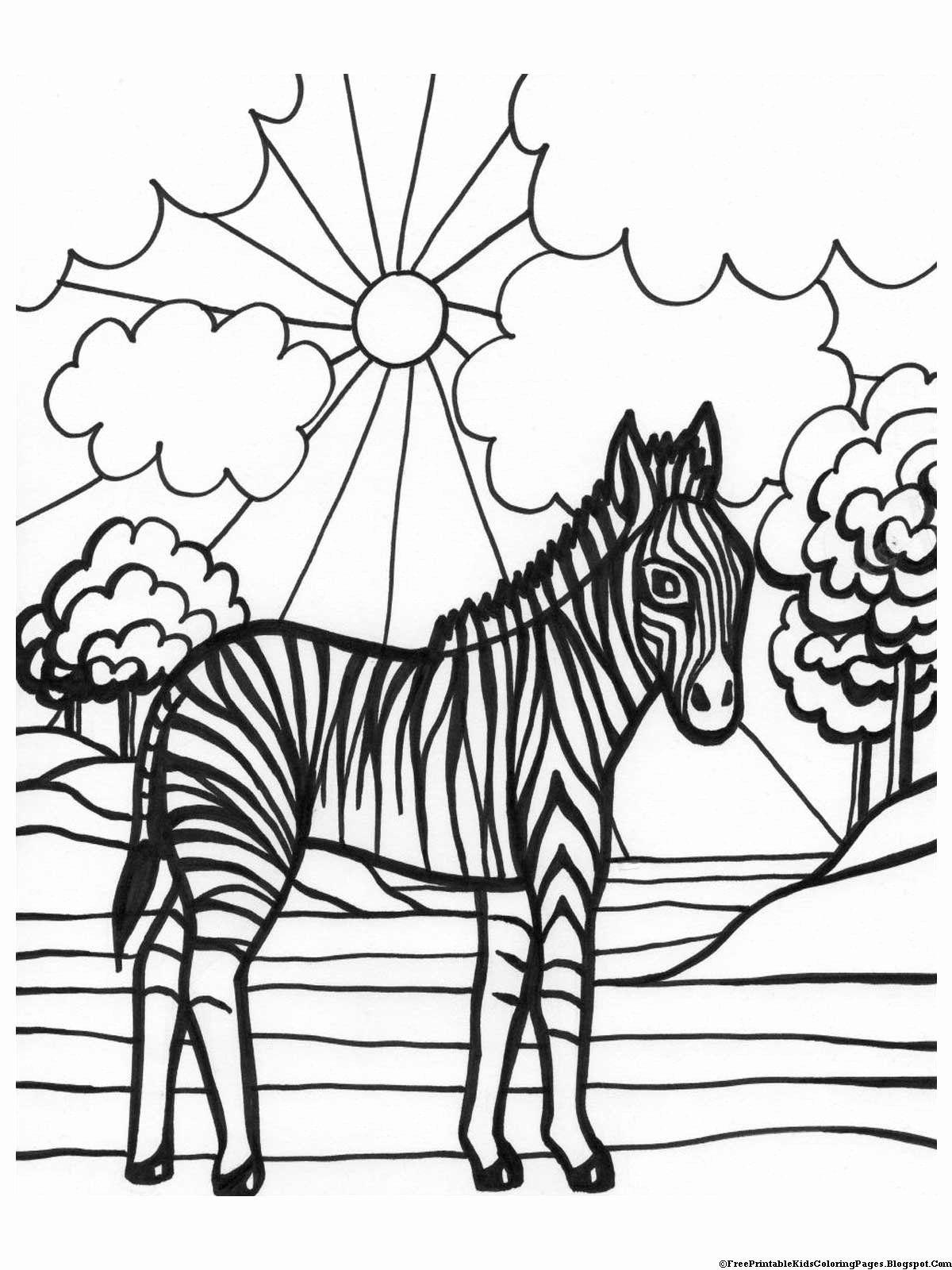Kids Coloring Book Pages Unique Zebra Coloring Pages Free Printable Kids Coloring Pages Zebra Coloring Pages Monster Coloring Pages Zebra Pictures