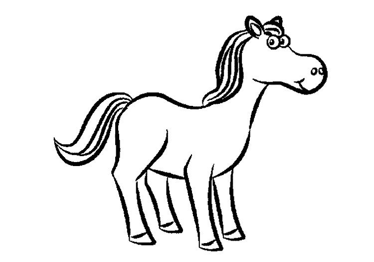 Cartoon Horse Coloring Pages Http Prinzewilson Com In 2018