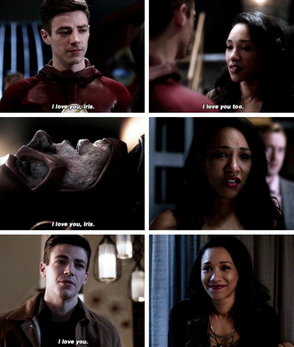 """#TheFlash 3x16 """"Into the Speed Force"""" - Barry and Iris"""