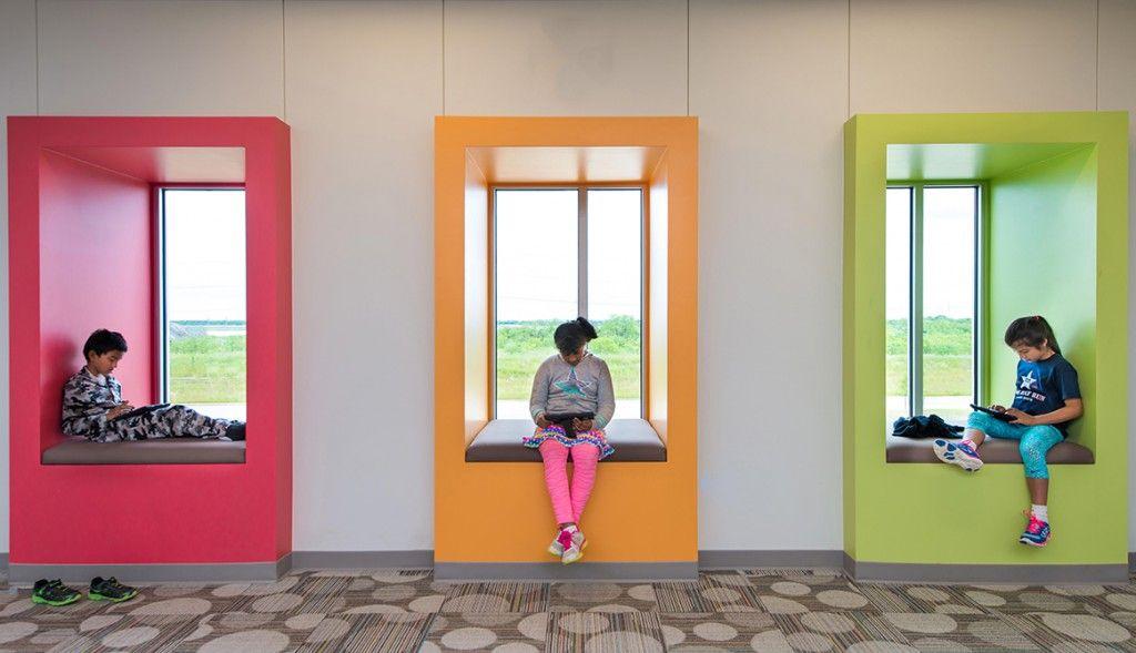Richard lee elementary coppell tx stantec interior - Interior design schools in texas ...