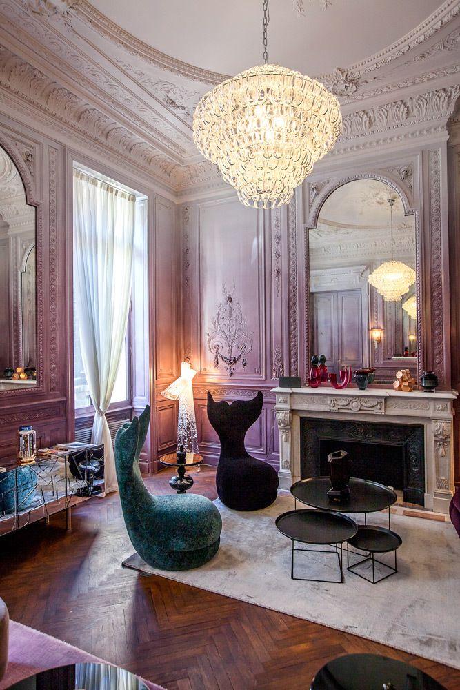 Yndō Hotel Opulent Interiors Living Room Decor Elle Decor