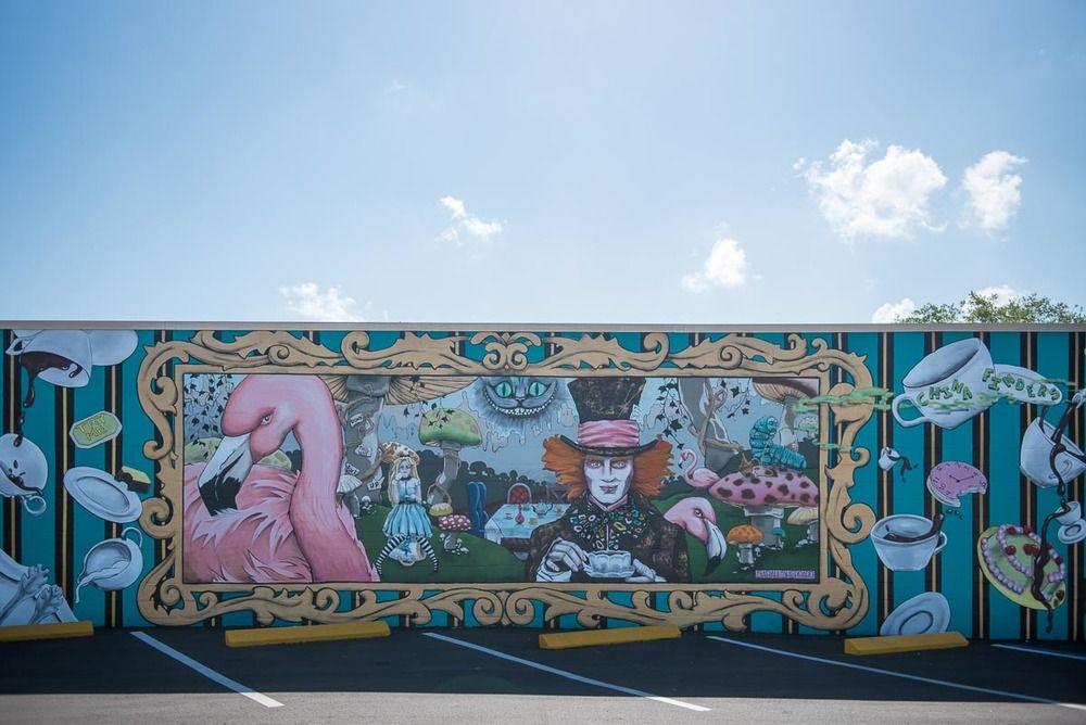Explore St. Petersburg Murals