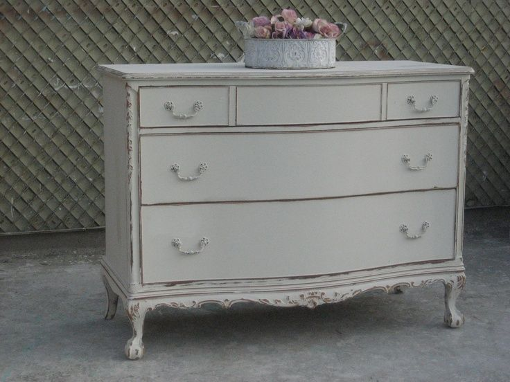 Amazing  French Country shabby chic 1940's vintage antique mahogany wood elegant long 3  wide drawer chest /dresser with removable glass top. $595... - -