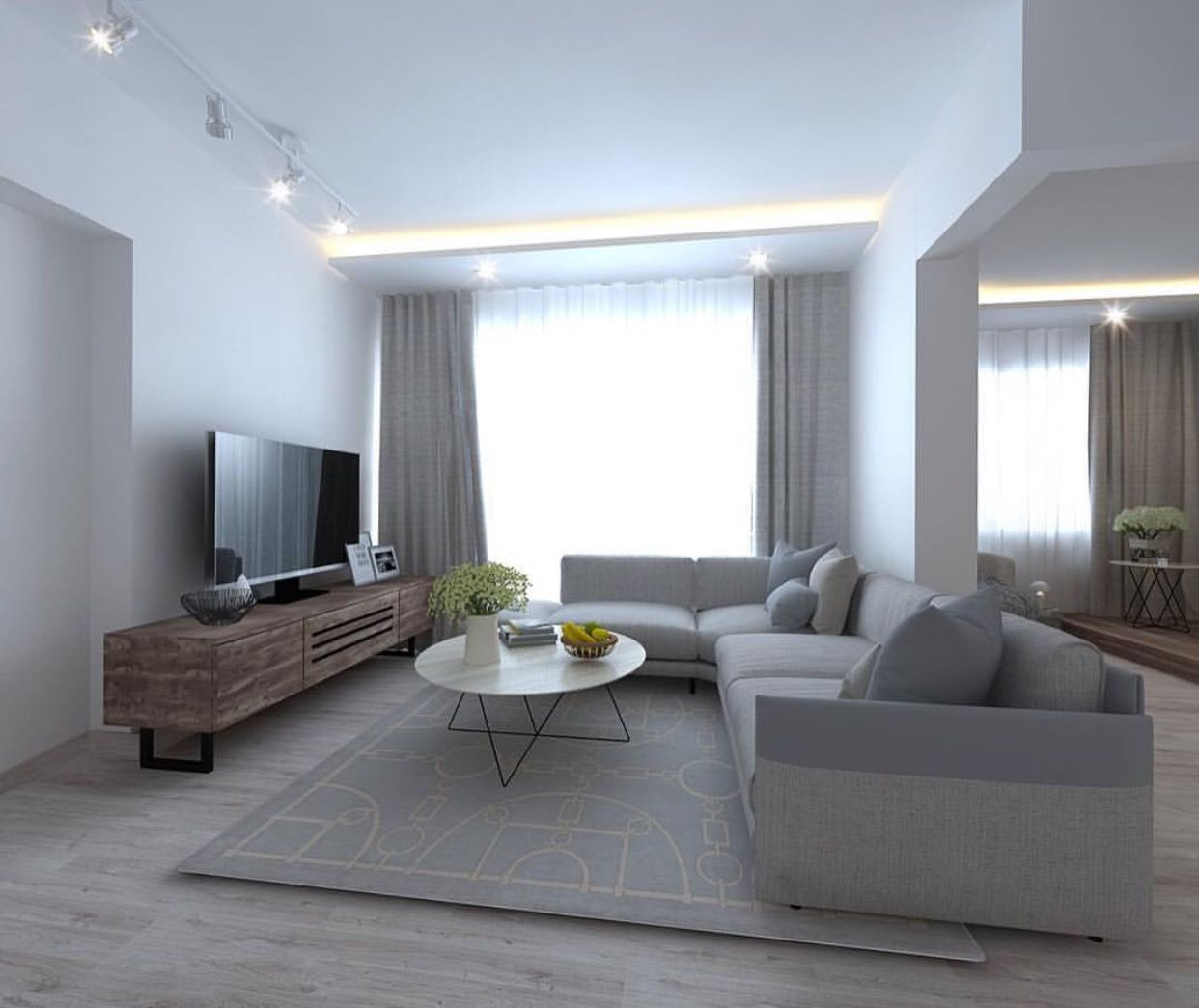 Colour Combination Of Living Room