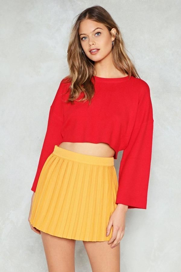 3a4e89eea6 Nasty Gal nastygal Com-Pleat Your Look Mini Skirt