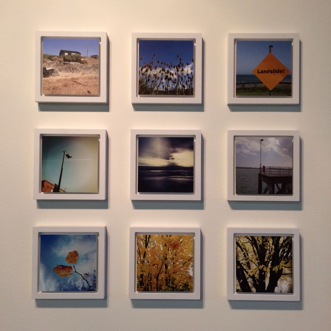 9 framed instagrams in a grid formation. www.picoframe.com | Best ...