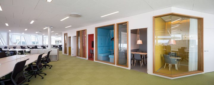 Swedbank Office By 3XN Architects, Stockholm Sweden Office ·  InnenarchitekturInnenarchitekturbürosArbeitsplatzgestaltungInnen ...