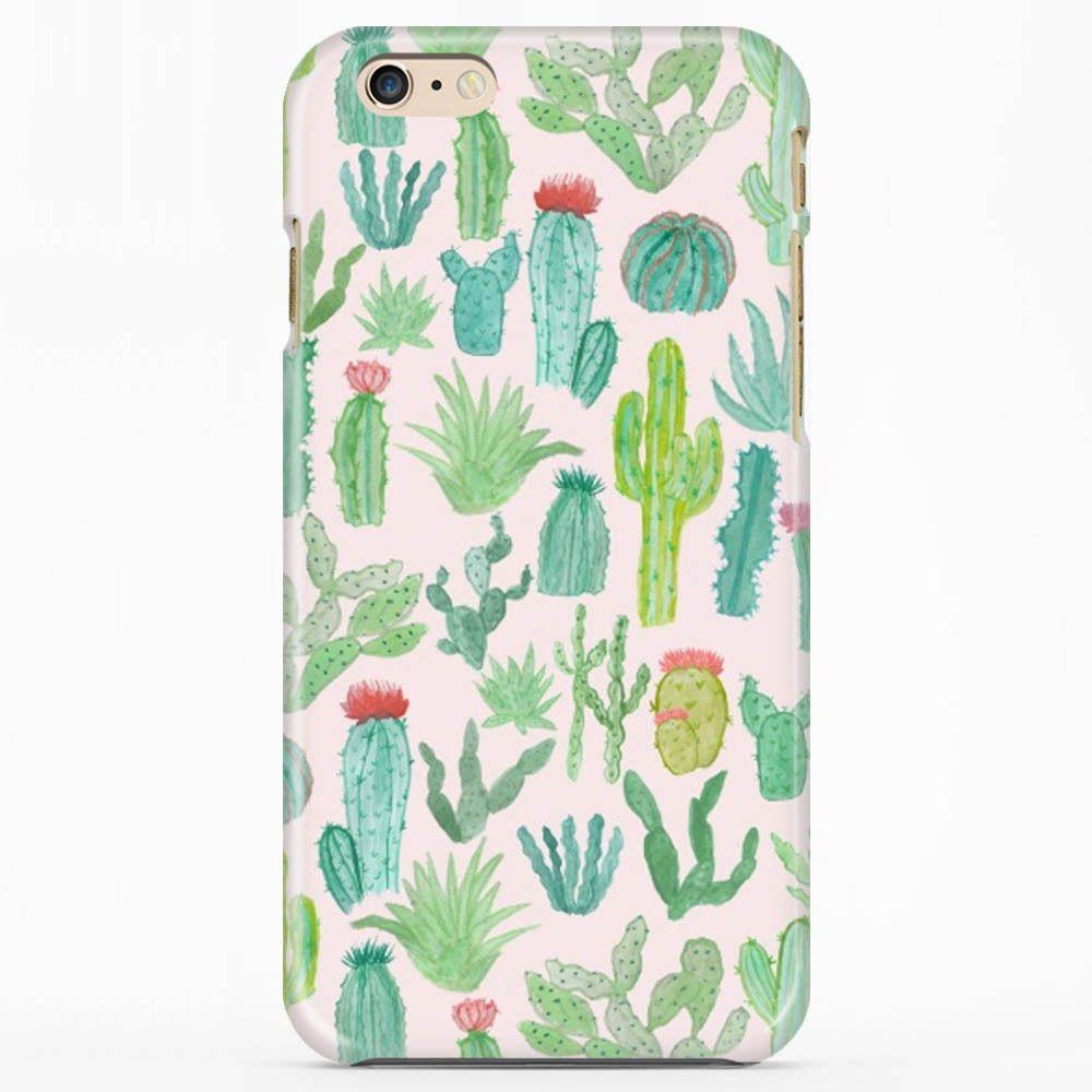 Cactus Color Art iphone case