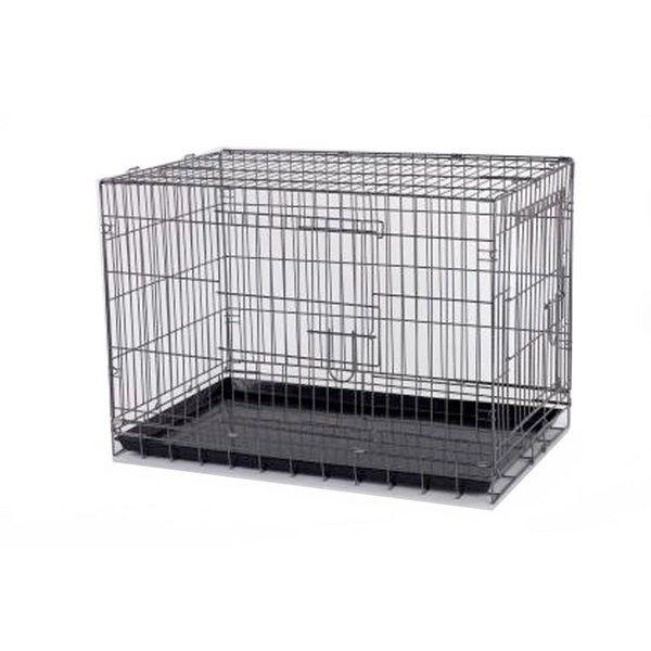 Jaula Para Perro 61 X 44 X 50 Cm Pequena Metalica Desmontable