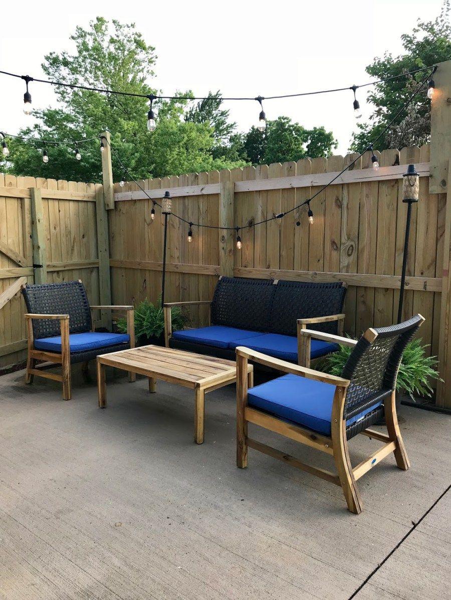 the myrick cottage patio reveal | diy home decor | pinterest