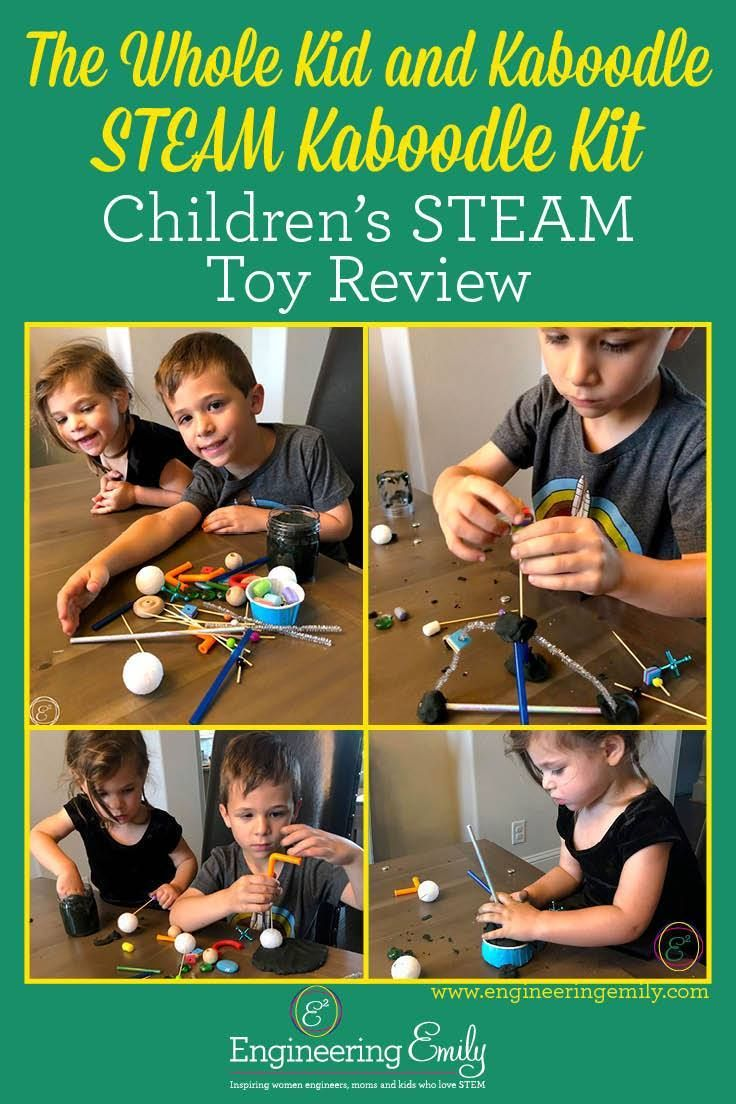 The Whole Kid and Kaboodle STEAM Kaboodle Kit Steam toys