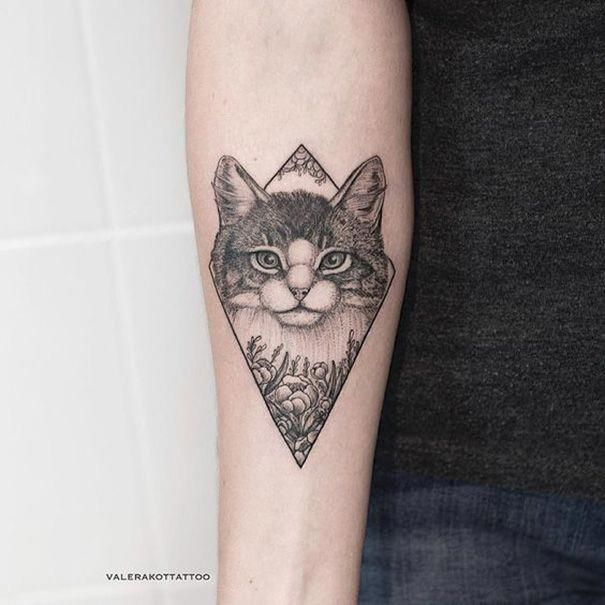 Tatowierung Design 2018 75 Schone Katze Tattoos Fur Frauen Tatto