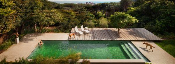 101 bilder von pool im garten - luxury swimming pool garten, Hause und garten