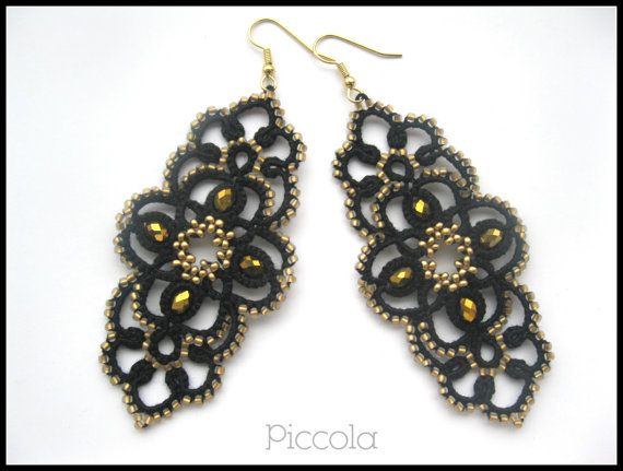 "Lacy earrings ""Venezia"""