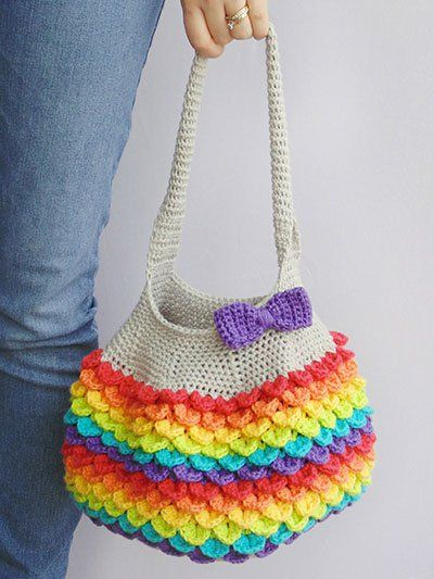 NEW -- bright & beautiful crocodile stitch tote! - sleecampbe@gmail ...