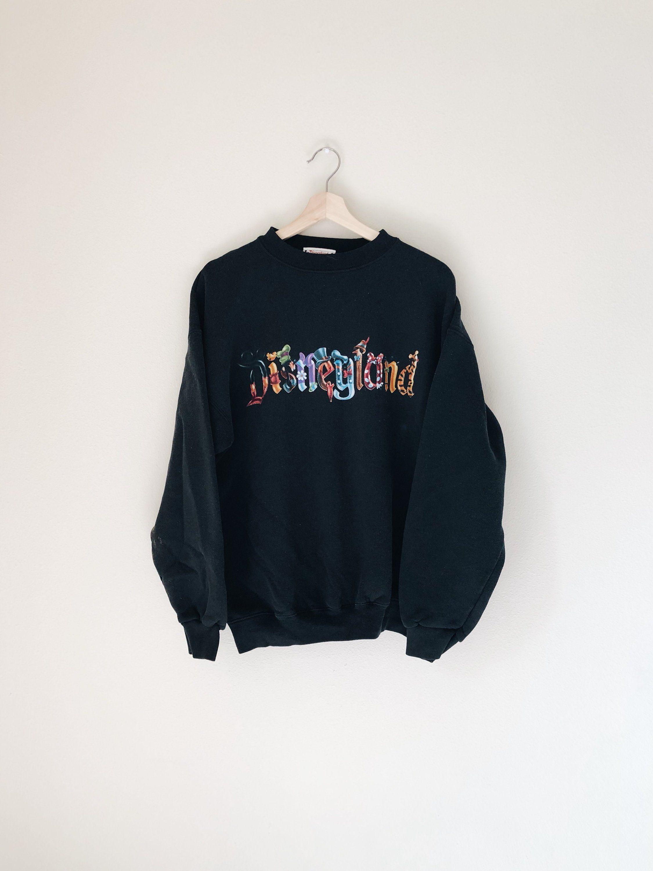 303360153 Vintage Disneyland Sweater VTG 90s Disney Pullover Tigger Winnie the Pooh  Alice in Wonderland https