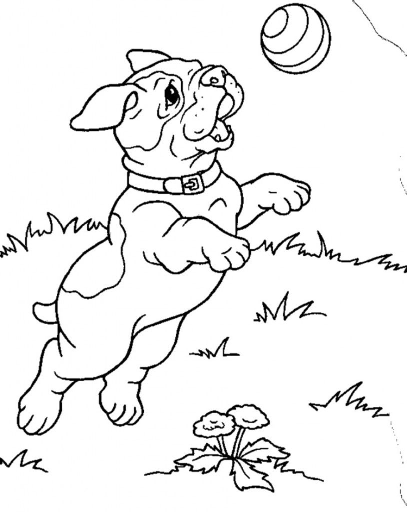 cool Printable Puppies Coloring Pages | Colouring Pages | Pinterest
