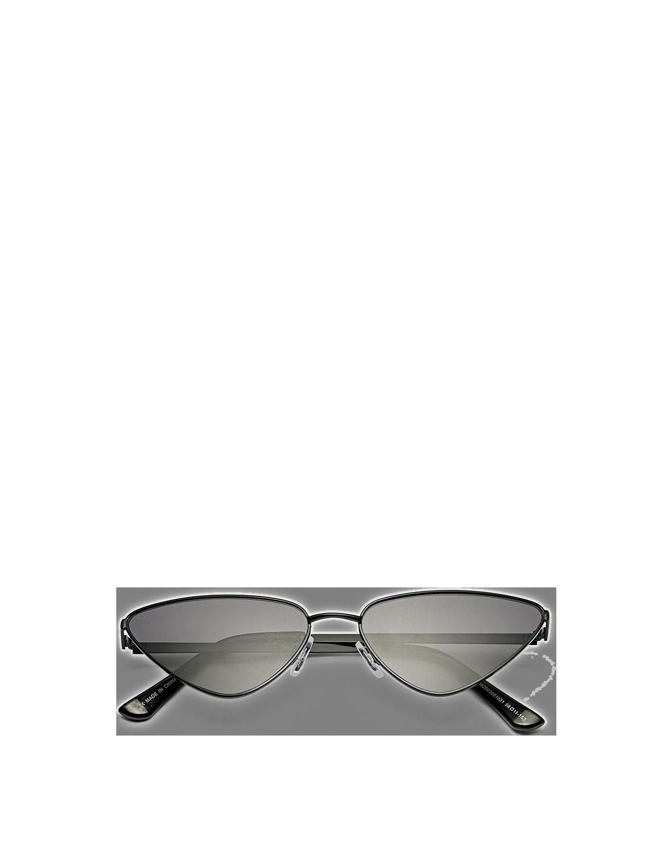 88a27dbab1 Gafas de sol con montura metálica y silueta de ojos de gato, de  stradivarius Dark