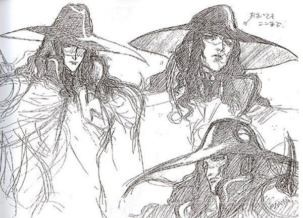 Vampire Hunter D: Bloodlust (2000) - Production Drawings & Model Sheets