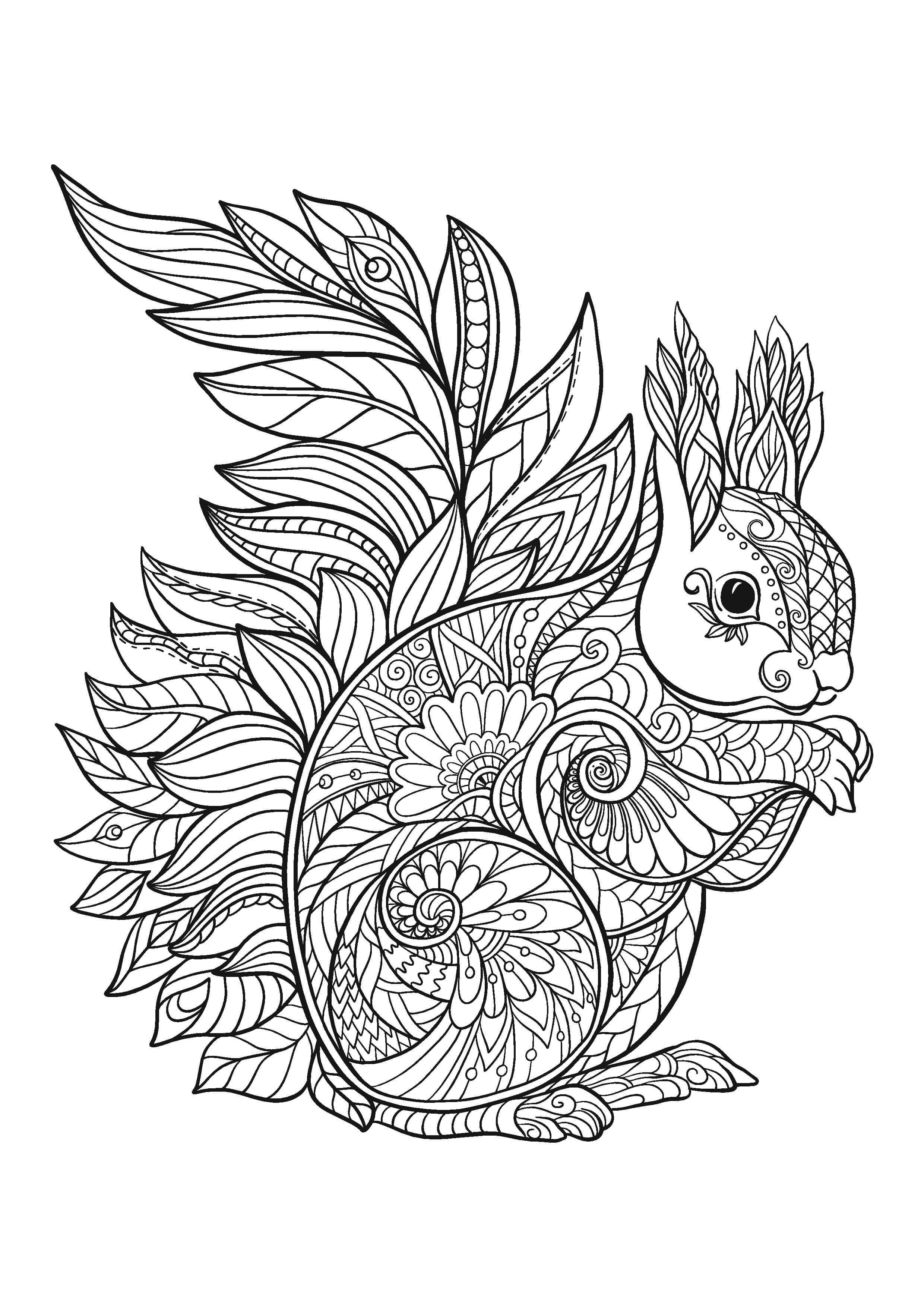 The Mindful Maven Club Animal Coloring Pages Mandala Coloring Pages Coloring Books [ 3508 x 2480 Pixel ]