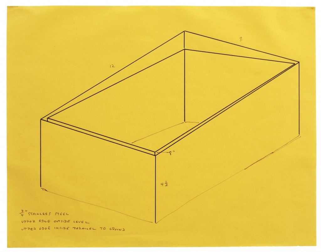 """Working Papers: Donald Judd Drawings, 1963–93″ Curated by Peter Ballantine at Sprüth Magers Berlin ""To see Judd's ""..."