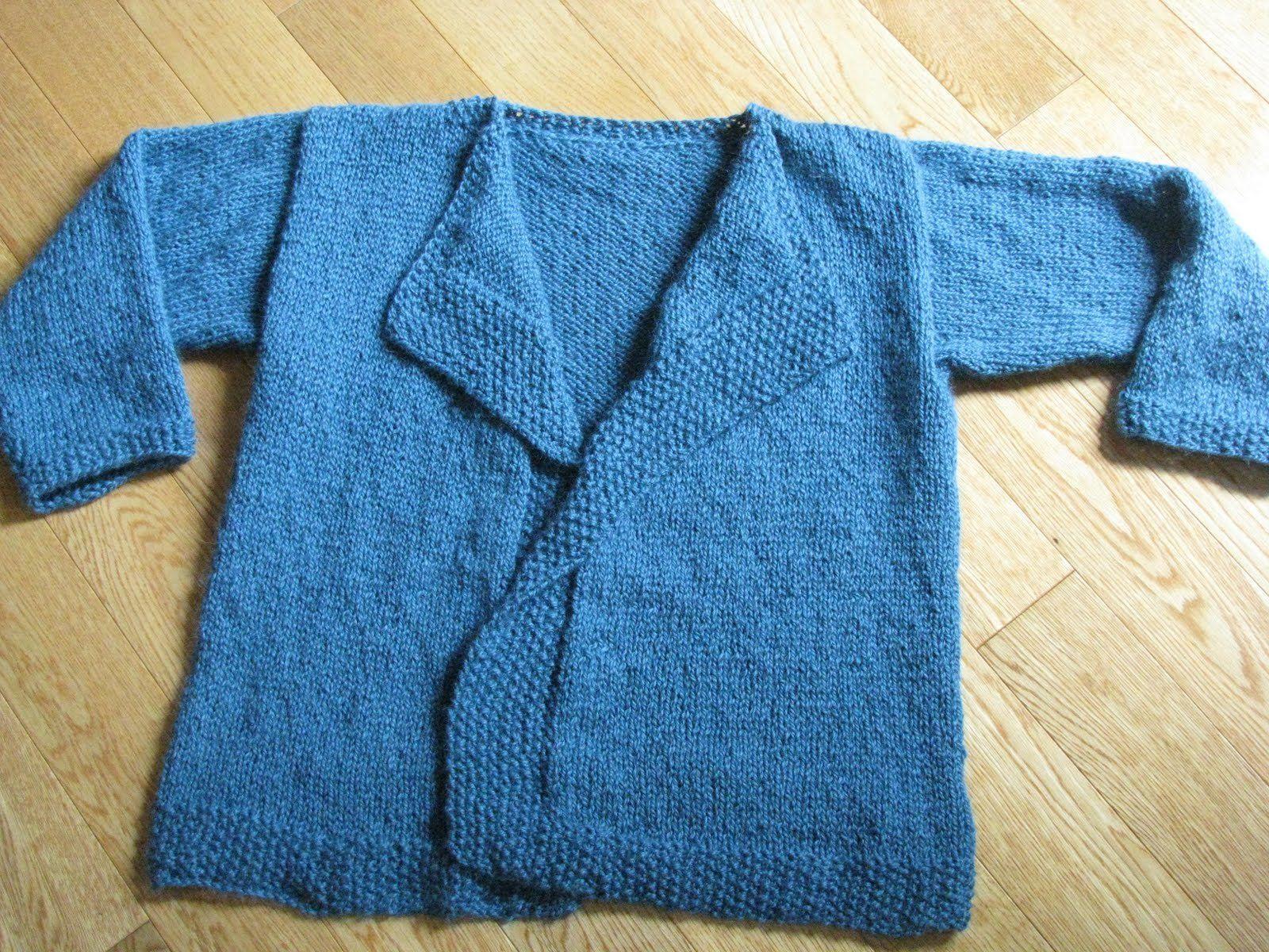 Free Knitting Pattern - Women\'s Cardigans: Alpaca Silk Easy Cardi ...
