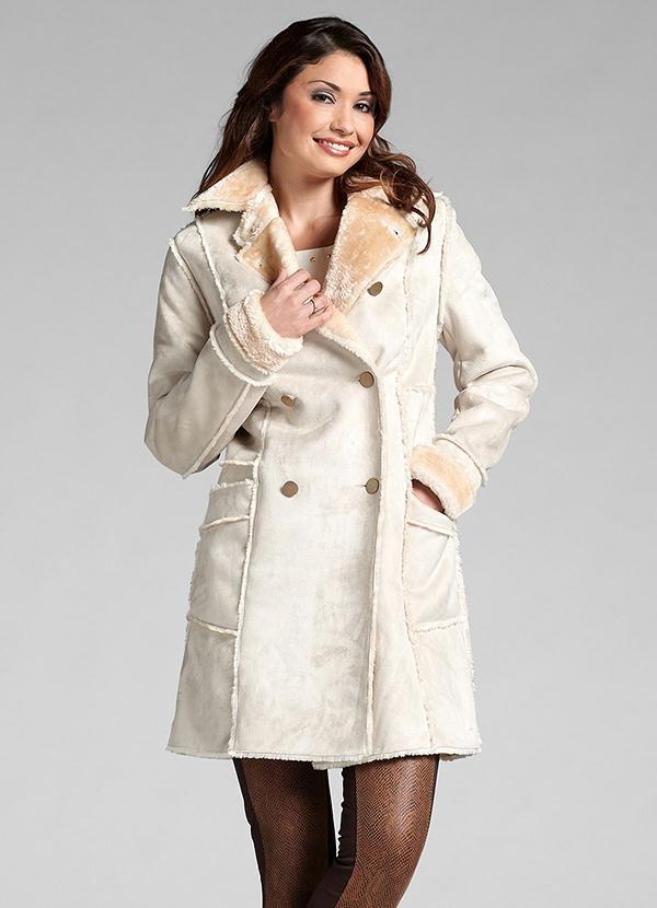 Casaco Trench Coat Colcci Feminino