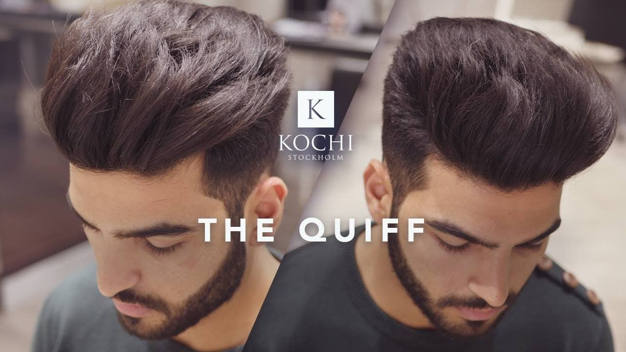 Big Volume Quiff Mens Haircut And Hairstyle 2017 Volume Hair Men Big Volume Hair Hair Styles 2017