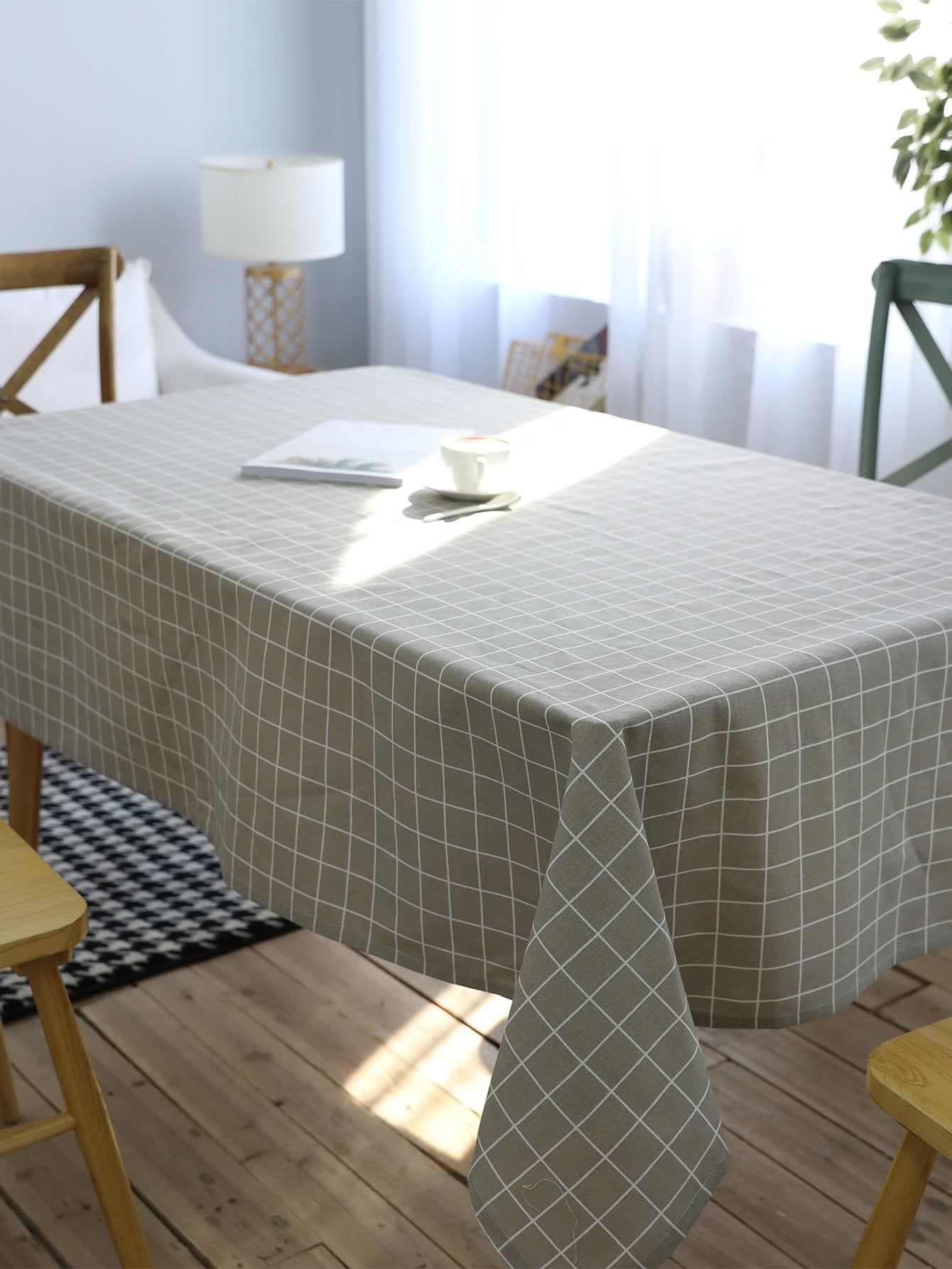 Grid Print Table Cloth Print Grid Cloth [ 1785 x 1340 Pixel ]