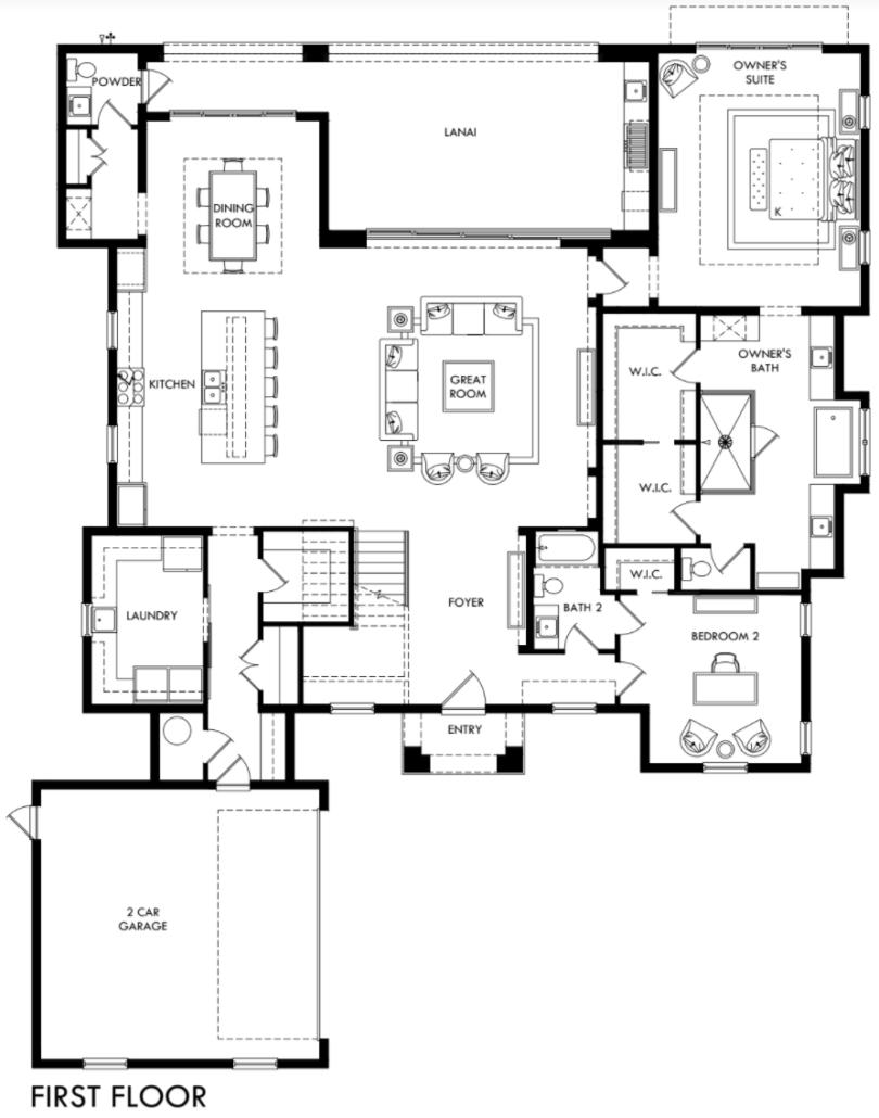 Balmoral First Floor Plan Floor Plans Custom Homes House Plans