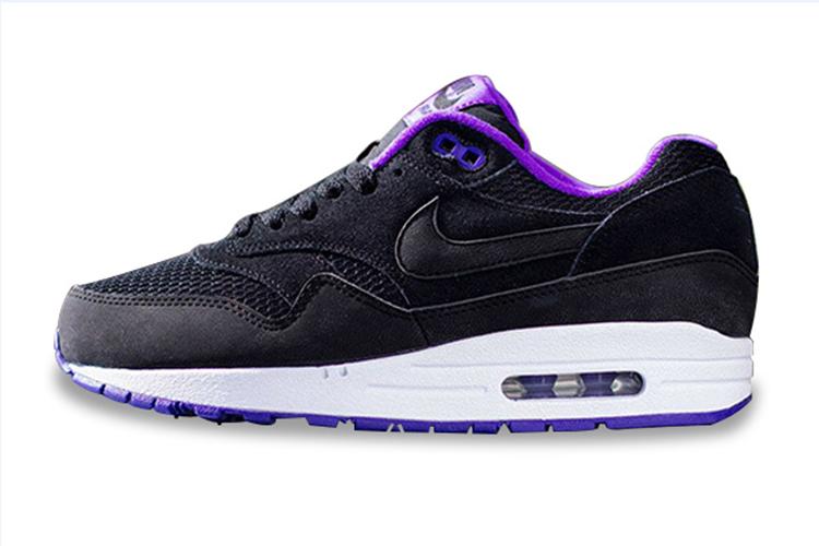 Nike Air Max 1 Womens Essential Black Hyper Grape