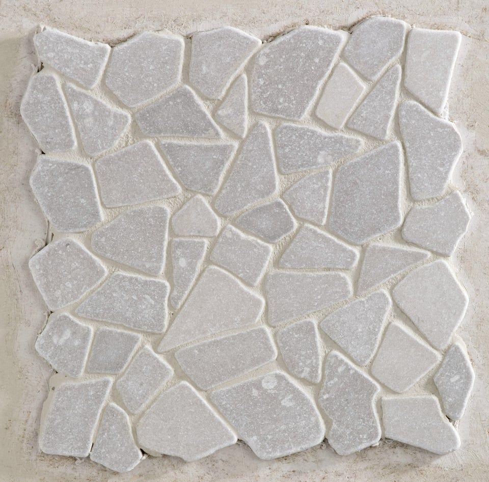Galets Sol Et Mur Opus Gris 30 5 X 30 5 Cm Artens Au Meilleur Prix En Stock Livraison Rapide Dans Toute La France Dec Sol Et Mur Galets Mosaique En Marbre