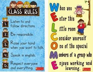 classroom rules for high school students pdf