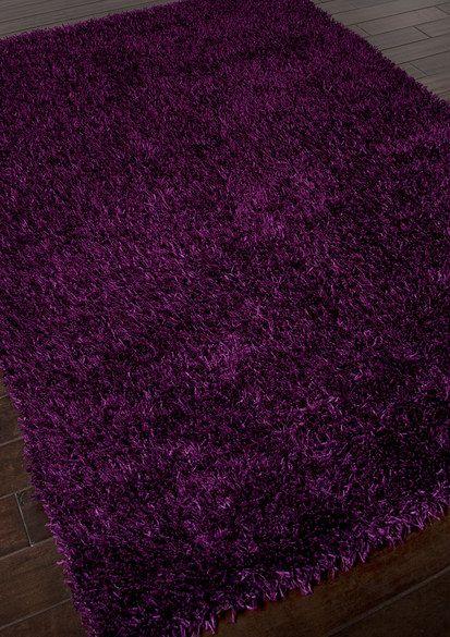 Jaipur Flux Shag Rug In Tulip Purple Purple Area Rugs Rugs Wholesale Rugs