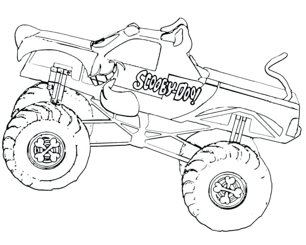 Awesome Coloring Page Monster Truck That You Must Know You Re In