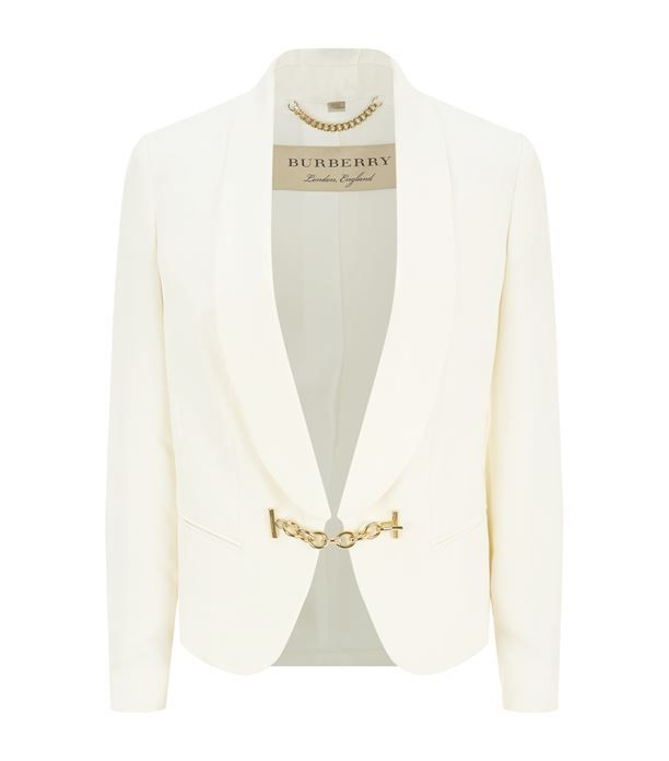 Burberry Chain Detail Blazer available to buy at Harrods.Shop clothing online and earn Rewards points.