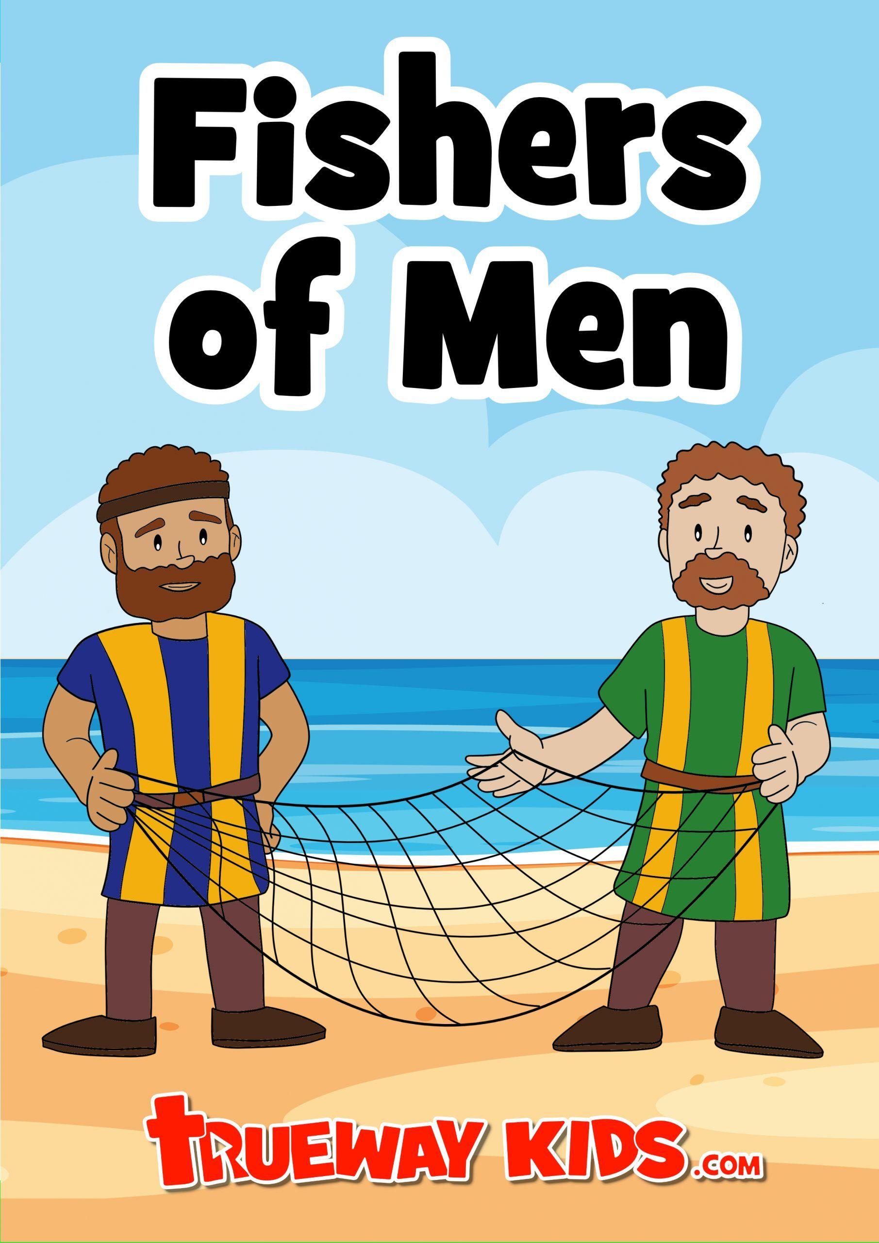 Free Printable Bible Lesson For Preschoolers Luke 5