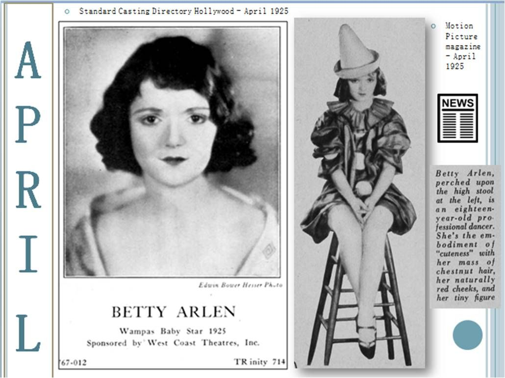Watch Betty Arlen video