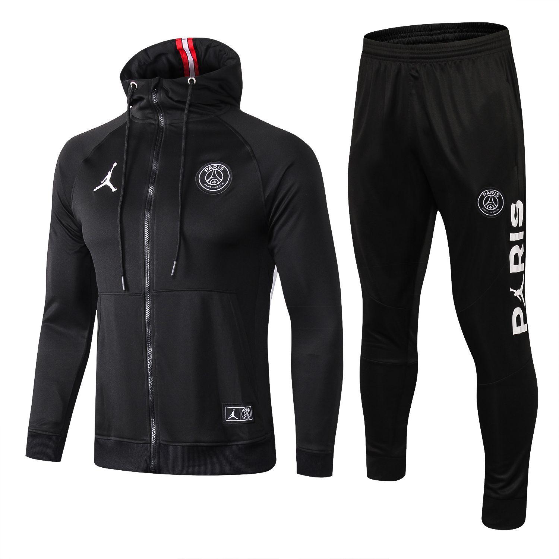jordan psg jacket black with zipper