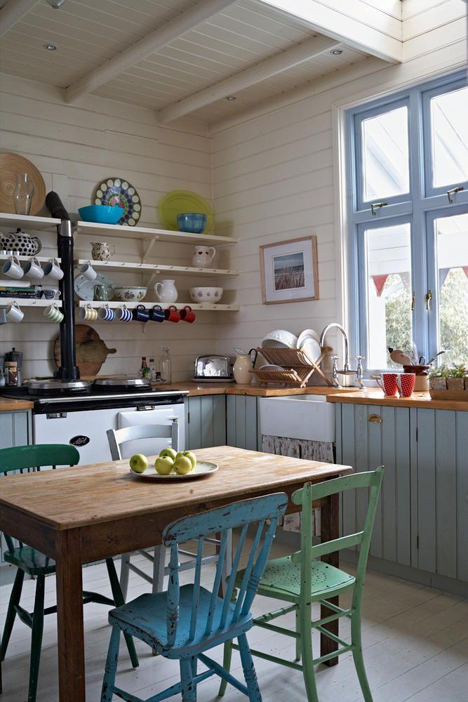 Küche Im Shabby Look über auf roomido com gefunden küche