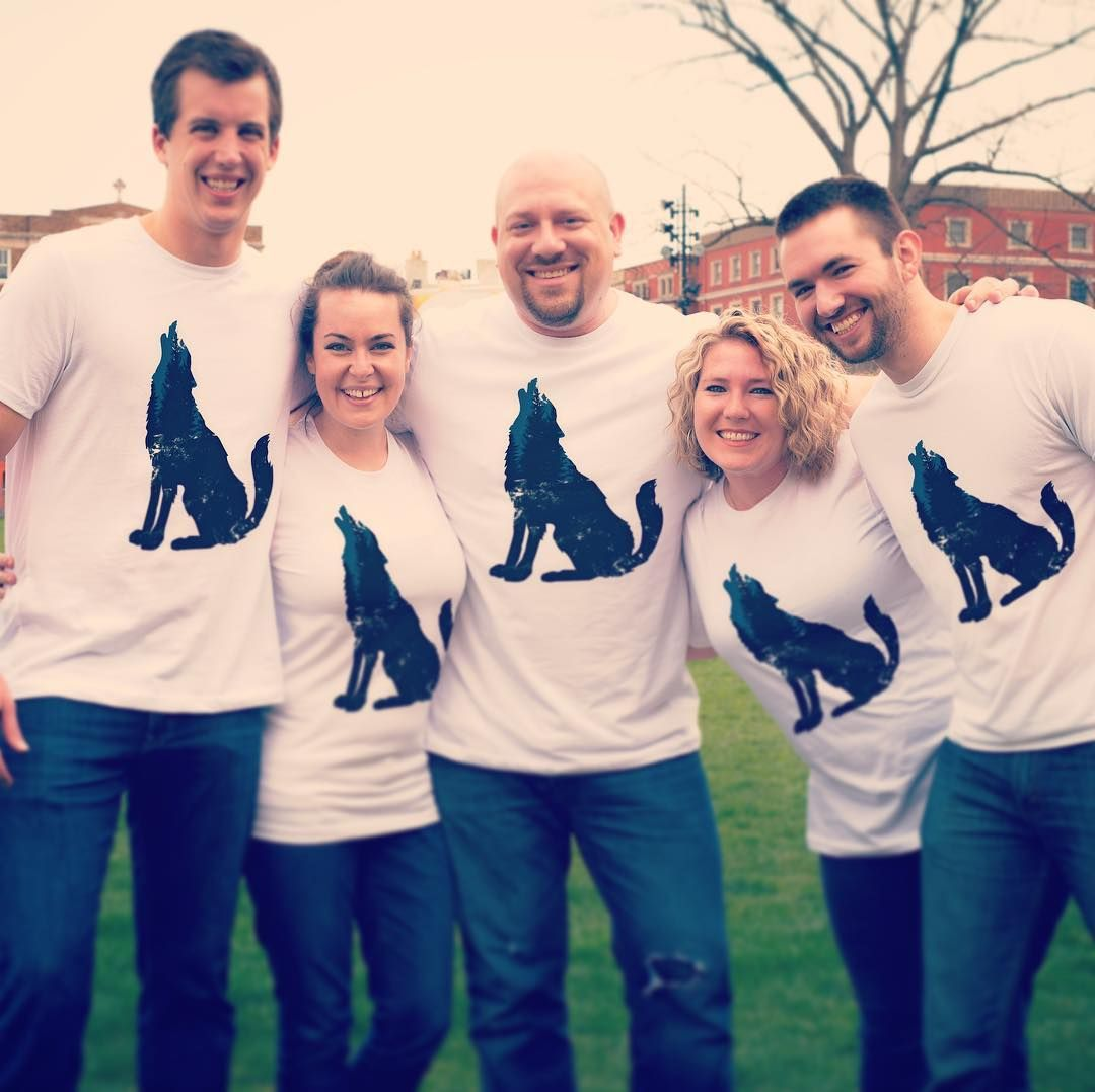 #squadgoals a group of friends supporting @defendersofwildlife 50% of profits are donated to help their mission! Buy the tee now at givingteeinkery.com #makewhatyouwearmatter