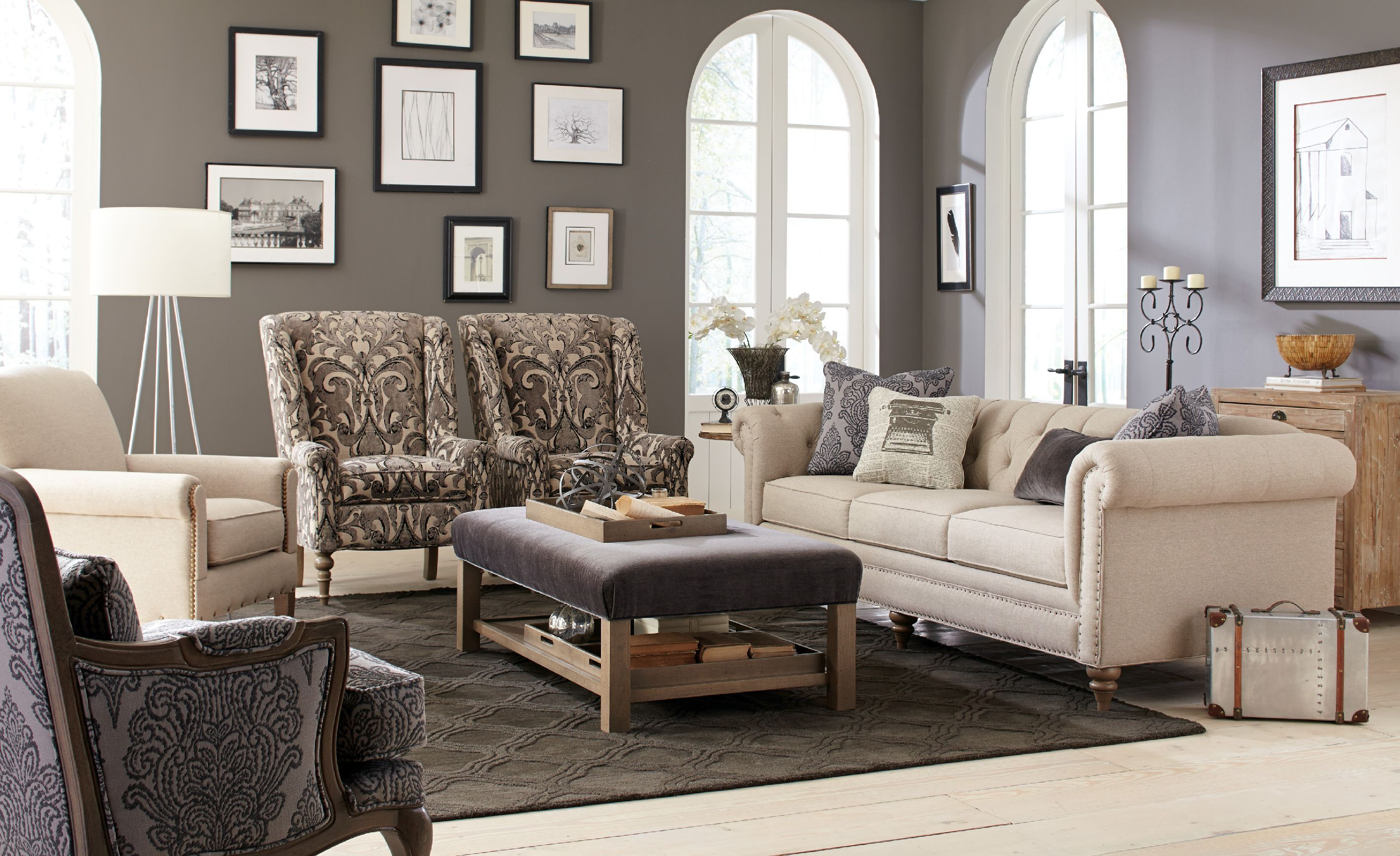 Wonderful Craftmaster Living Room Sofa 743254   Tyndall Furniture Galleries, INC    Charlotte, North Carolina
