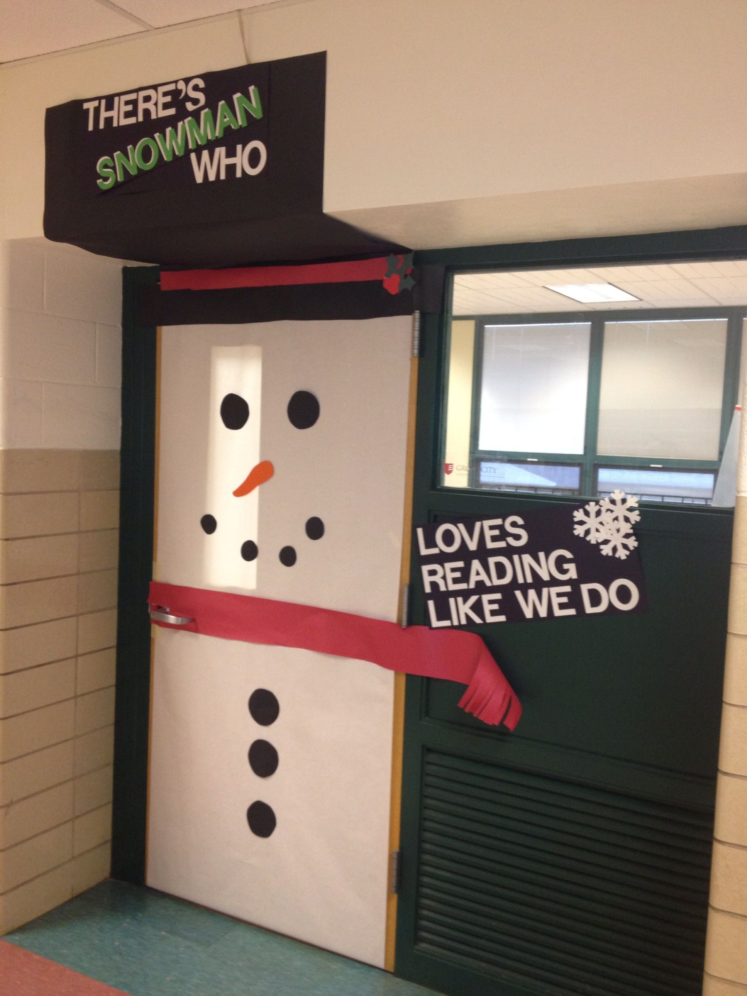 Classroom door decoration for winter | Pins I've tried ...