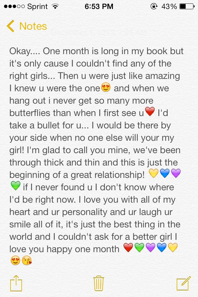 8 month anniversary paragraph for him