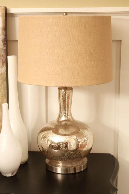 Hobby Lobby Lamp Mercury Burlap\   Google Search
