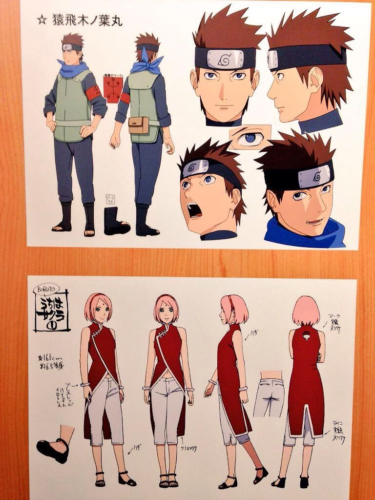 Related Image Naruto Sketch Anime Character Design Character Design